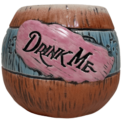 Front - Mad Tiki Cup - Lost Temple Traders - Brown and Blue Edition