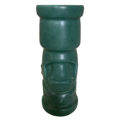 Front - Mr. Moai - Tiki Farm - Green Edition