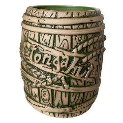 Front - Rum Barrel - Tonga Hut - Matte Green Edition