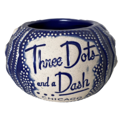 Front - Sea Urchin - Three Dots and a Dash - Navy Edition