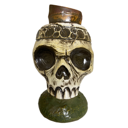 Front - Skull on Spike - Kaku Kaku - Limited Edition
