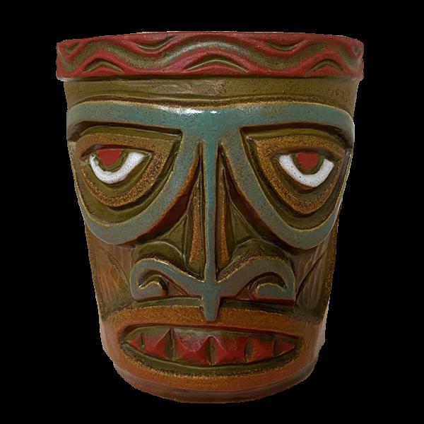 Front - Tiki Drum - Original Tiki Market Place - Limited Edition