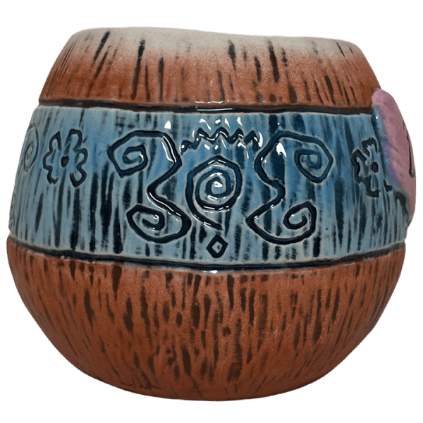 Side - Mad Tiki Cup - Lost Temple Traders - Brown and Blue Edition