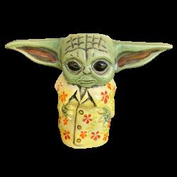 Front - Baby Yoda - TikiRob - Yodaloha Edition