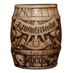 Front - Cask of Amontillado Barrel - Horror in Clay - Matte Brown Edition
