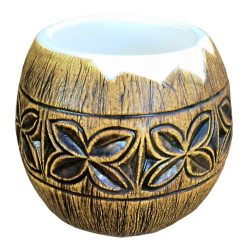 Front - Coconut Mug - TikiRob - Custom Edition2
