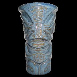 Front - Marquesan Mug - Bahi Hut - Blue Edition