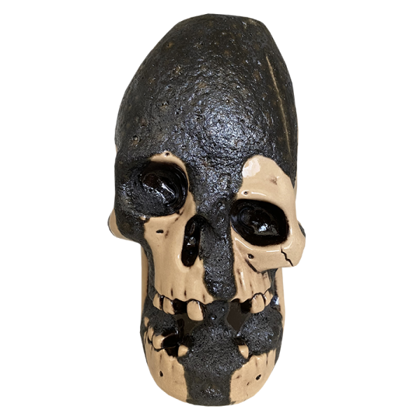 Front - Never Say Die Mutant Skull - Munktiki - Lava Dripped Edition
