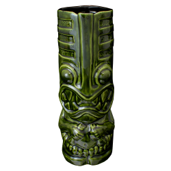 Front - Toothy Tiki - Terrible Tiki - Gloss Green Edition