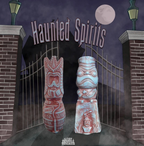 Haunted Spirits mug design by Lost Temple Traders