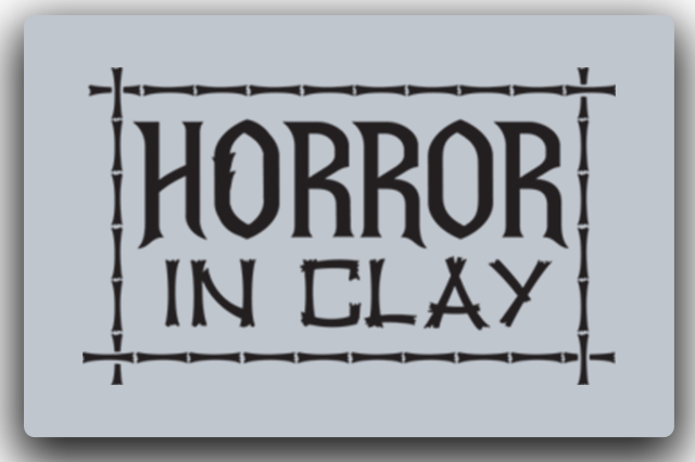 Horror in Clay Logo