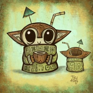 Keiki Bob Cermaic Mug Concept Art by Tiki tOny