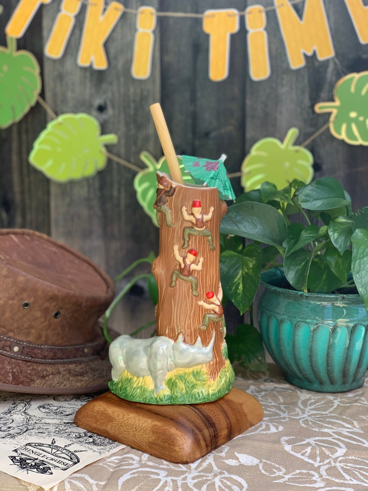 Official Sculpt of Missing the Point by L&L Tiki Traders