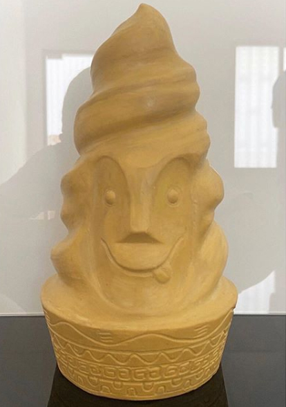 Sculpt Design for Swirly Bob Tiki Mug by Lost Temple Traders