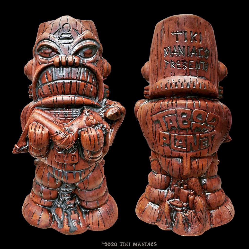 Taboo Planet 2nd Edition Tiki Mug Design