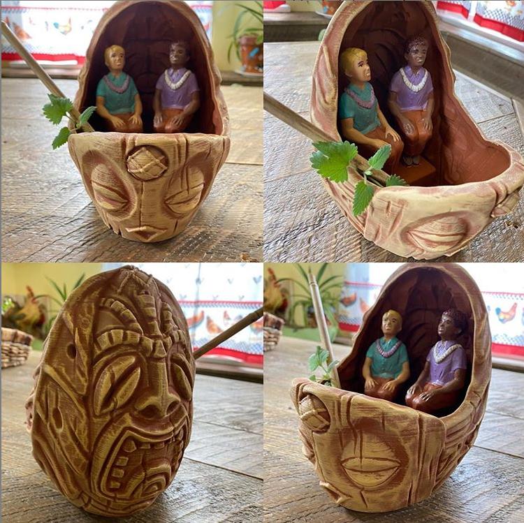Tiki Town Mug Sculpt