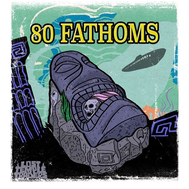 80 Fathoms Tiki Mug Design Art