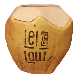 Front - Coconut Mug - Lei Low - 6th Anniversary Edition