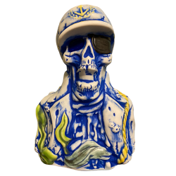 Front - Dead Man's Isle Captain Mug - Munktiki - Ghostly Blue Edition