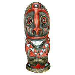 Front - Enchanted Orator I The Giver - Jungle Modern Ceramics - Red Edition