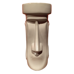 Front - Moai Sophisticate - Tiki Farm - 1st Edition