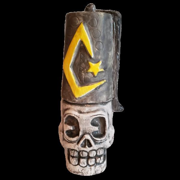 Front - Mr. Skull Fez - Outl1n3 Island - Black Hat Edition