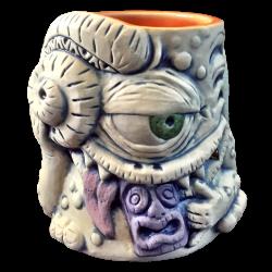 Front - Purple Tiki Eater - Ceramics by Carol - 1st Edition