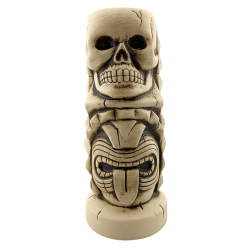 Front - Skully Totem  - Three Dots and a Dash - Open Edition1