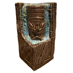 Front - Tiki Crate - Forbidden Island - 5th Anniversary Blue Edition