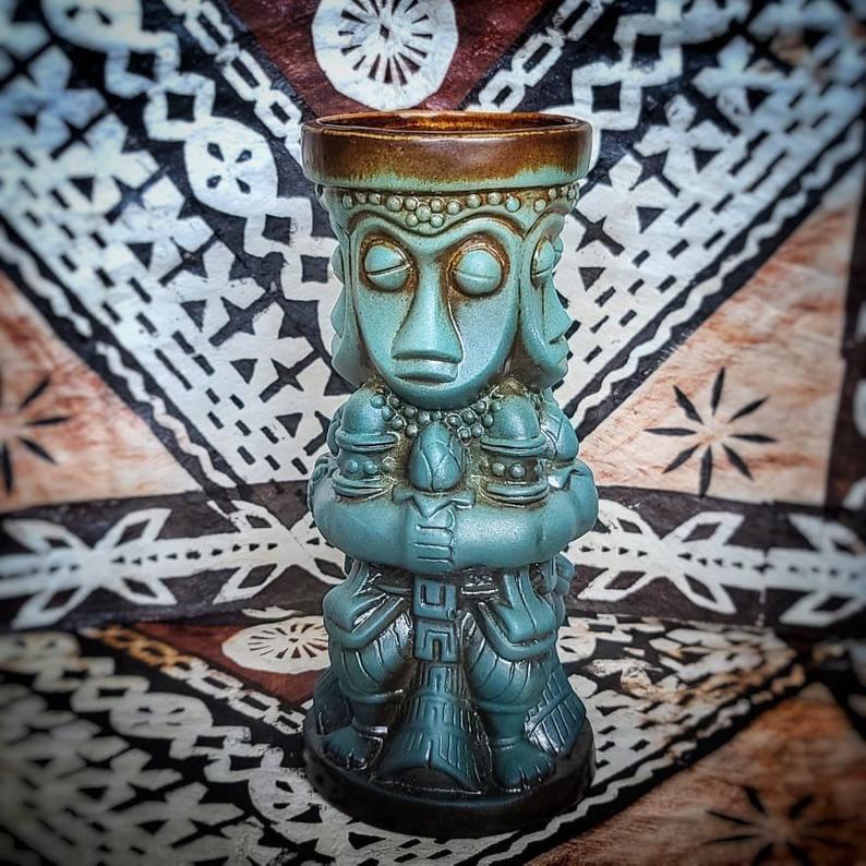 Magical Tiki Meetup Mug in Tangaroa Glaze