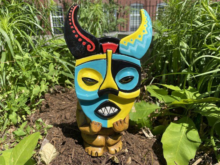 Mask Mug by TikiRob