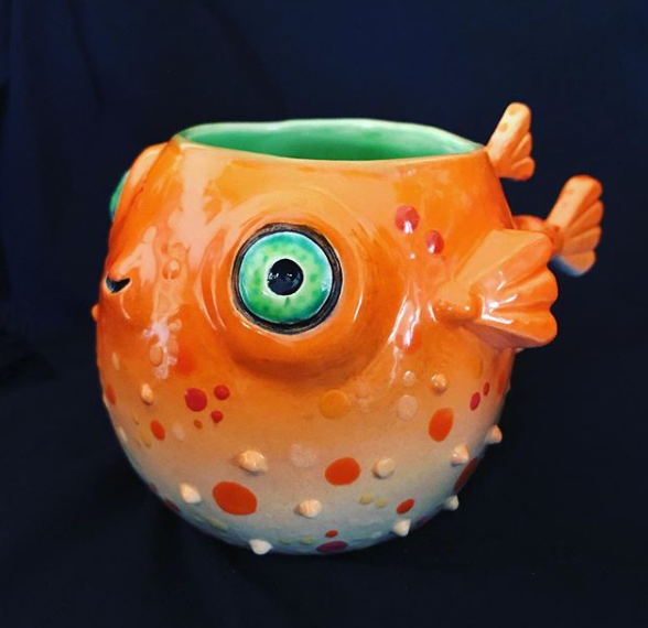 Pufferfish Glazed by TikiRob