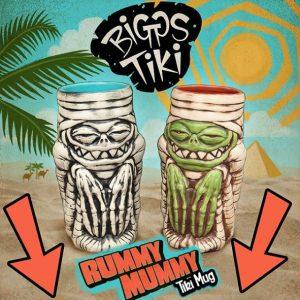 Rummy Mummy Tiki Mug Design