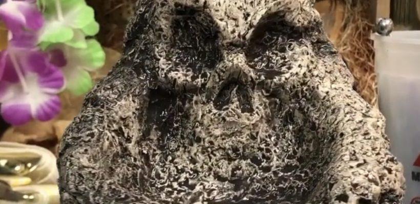 Skullcano Island Sculpt Design