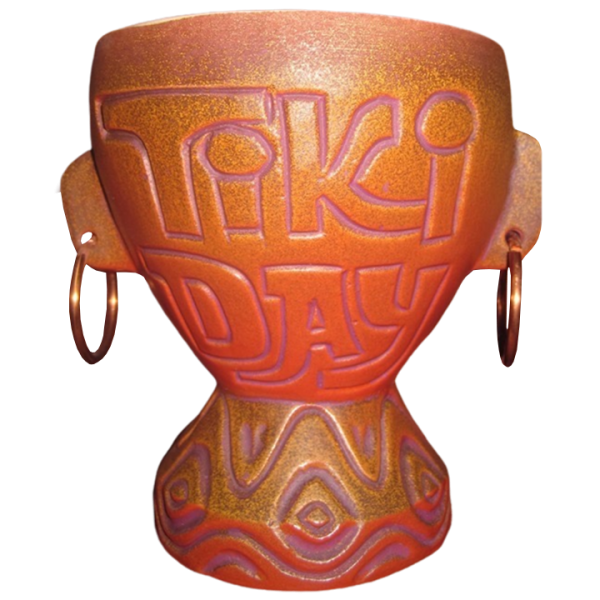 Back - 2017 Tiki Day at the Park Mug - Tiki Diablo - Limited Edition