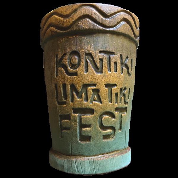 Back - 2019 Mug - Kontiki Lima Tiki Fest - Limited Edition