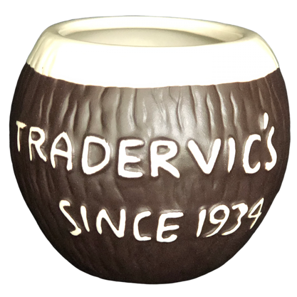 Back - Coconut Cup - Trader Vic's - Open Edition