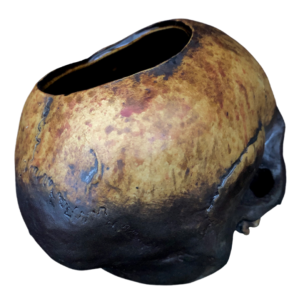 Back - Skull Bowl - The Shrunken Monkey - Weathered Edition