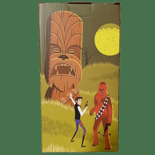 Box Back - Chewbacca - SHAG x Geeki Tikis - Limited Edition