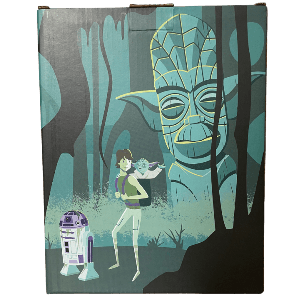 Box Back - Yoda - SHAG x Geeki Tikis - Limited Edition