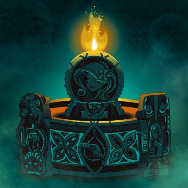 Calling All Spirits Tiki Mug Design