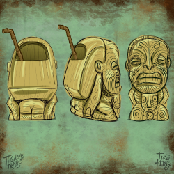 Cannibal of Doom Tiki Mug Design