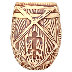 Front - Barrel Mug - Plantation Rum - Open Edition