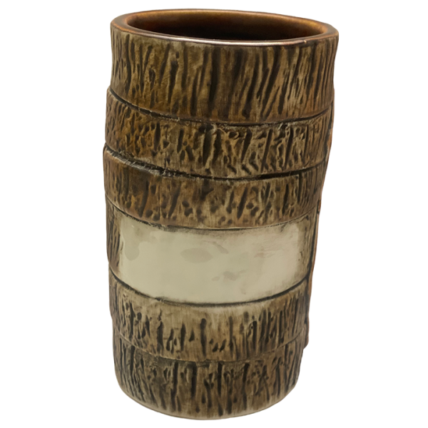 Front - Cork and Net Re-Writeable Name Mug – Munktiki – 1st Edition
