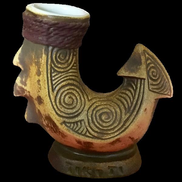 Front - Hook Mug - Tiki-Ti - Hawaiian Sunset Edition