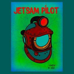 Jetsam Pilot Tiki Mug Design