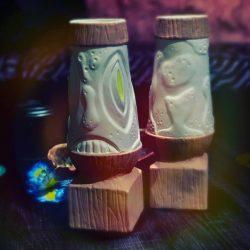 Primitive Tiki Lava Lamp Mug