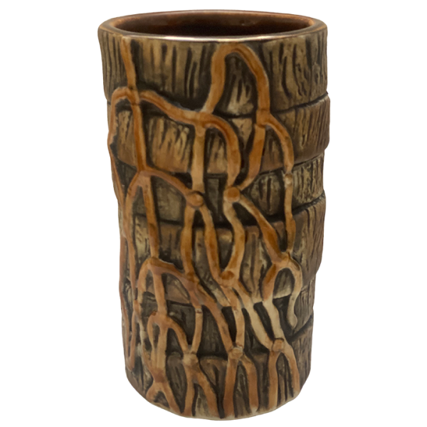Side - Cork and Net Re-Writeable Name Mug – Munktiki – 1st Edition