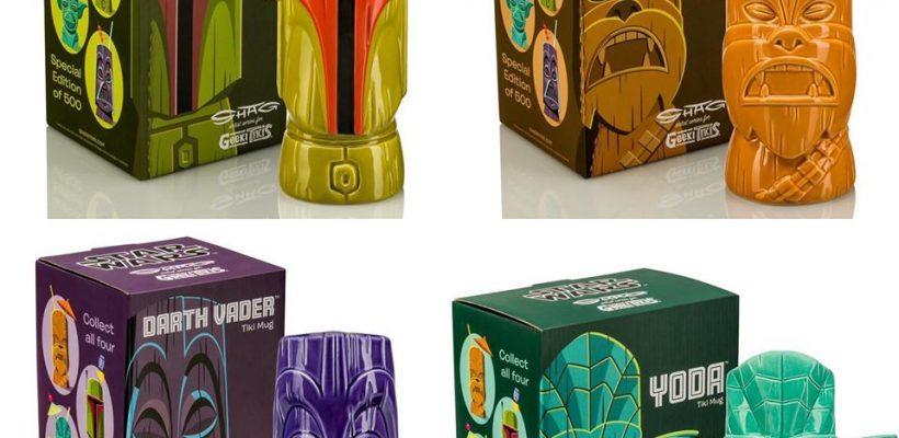 Star Wars Tiki Mugs by SHAG