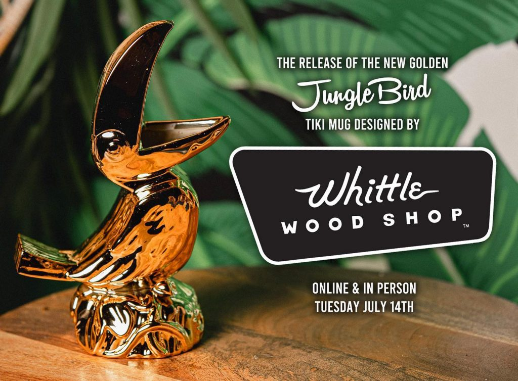 The Jungle Bird Tiki Mug in Gold